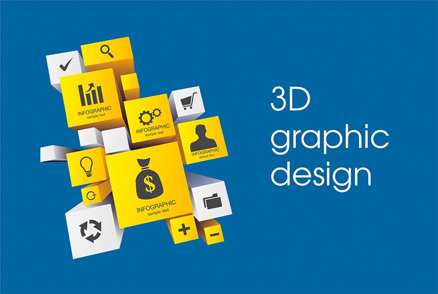 3D Elements in Graphics Design