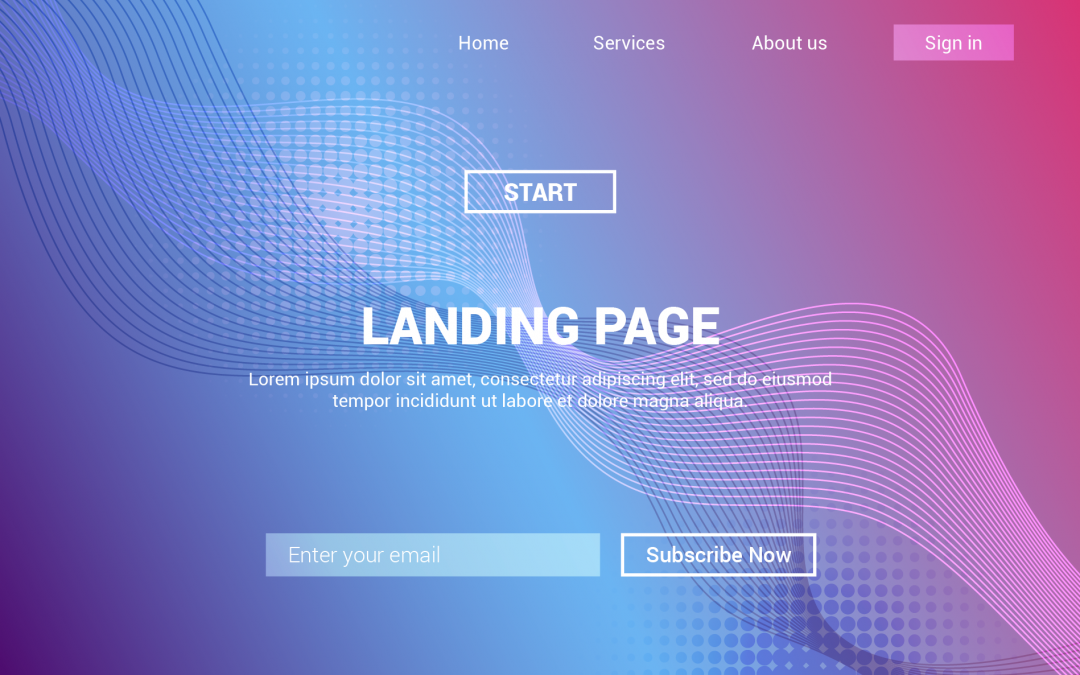 Moderate Landing Pages