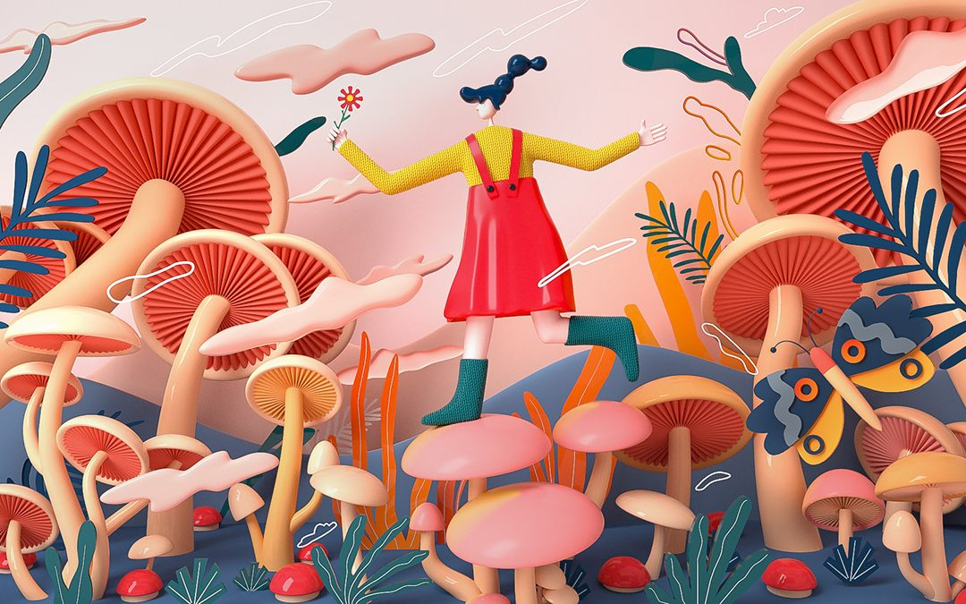 Abstract and Dreamy Illustrations
