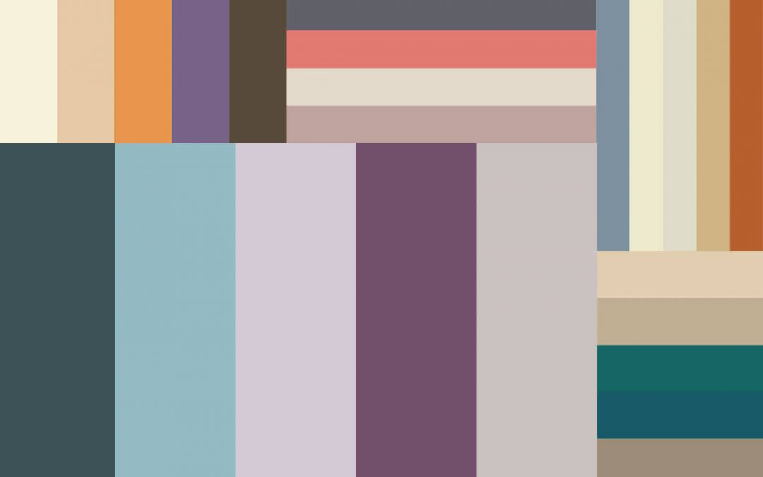 Muted Colors as Graphic Design Trends for 2020